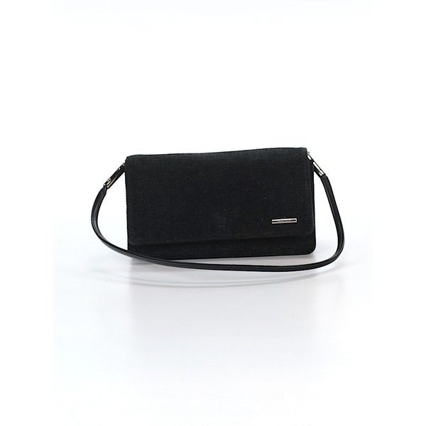 Pre-owned Nine West Clutch: Black Women's Bags (115 MYR) ❤ liked on Polyvore featuring bags, handbags, clutches, black, nine west handbags, pre owned handbags, nine west clutches, pre owned purses and man bag