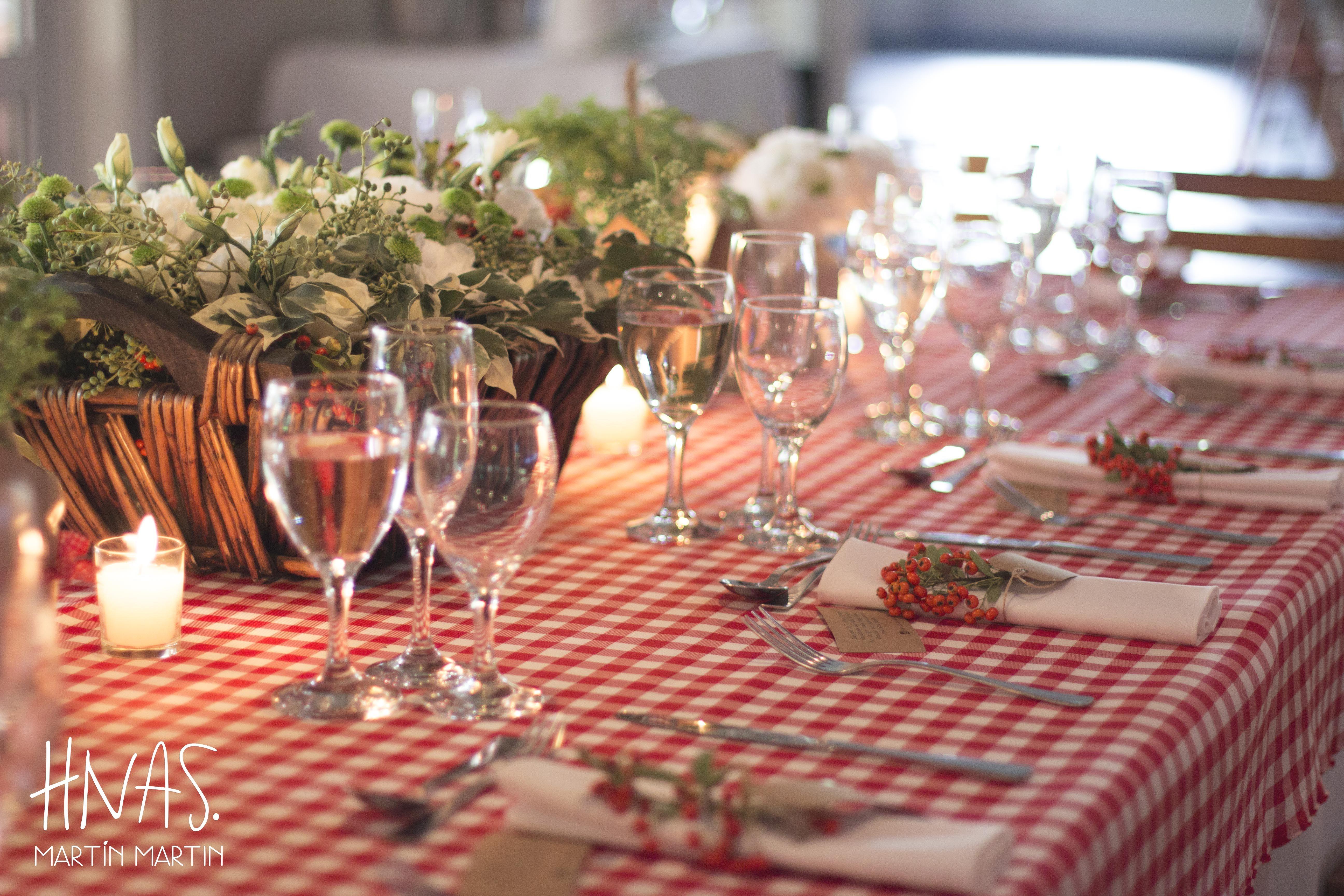 Casamiento con ambientación estilo picnic, centro de mesa decor wedding picnic style, centerpiece