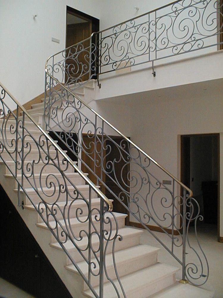 Garde corps escaliers ste ma inox ma inox inox fer forg aluminium part 2 Garde corps en fer forge pour escalier