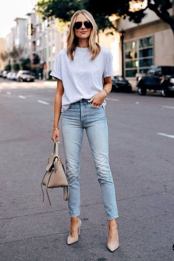17 Simple Denim Outfits You Can Copy Now -