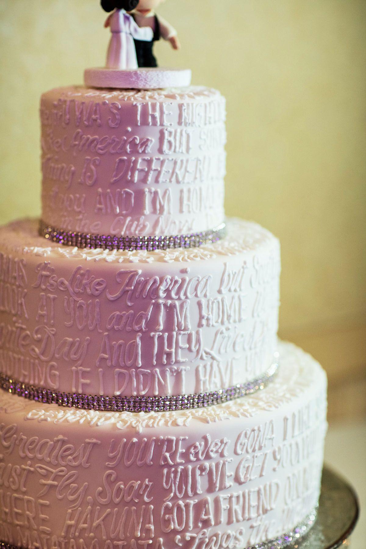Disney Wedding Cake Wednesday Movie Quotes