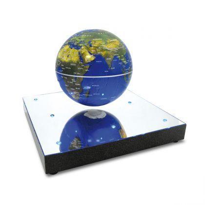 Globe Flottant En Levitation Achat Cadeau Deco Design Sur Rapid