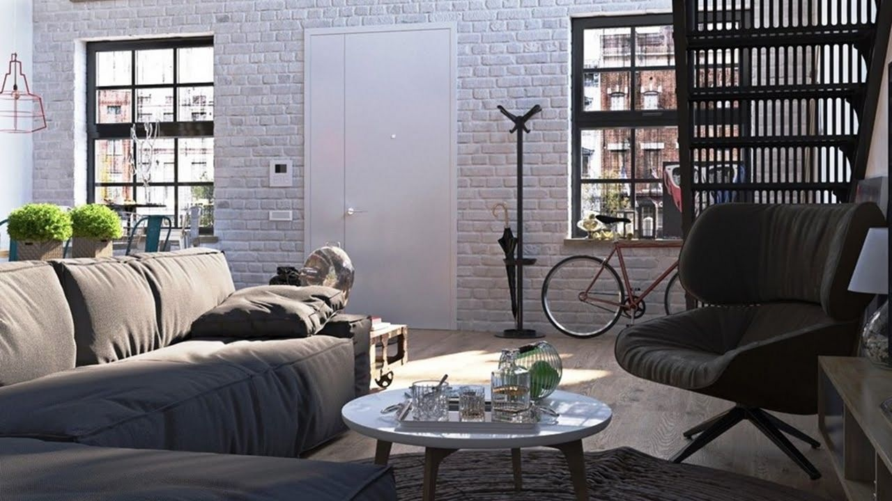 25 Stunning Industrial Small Living Room Design And Decor Ideas Dexorate Small Living Room Design Industrial Living Room Design Industrial Decor Living Room