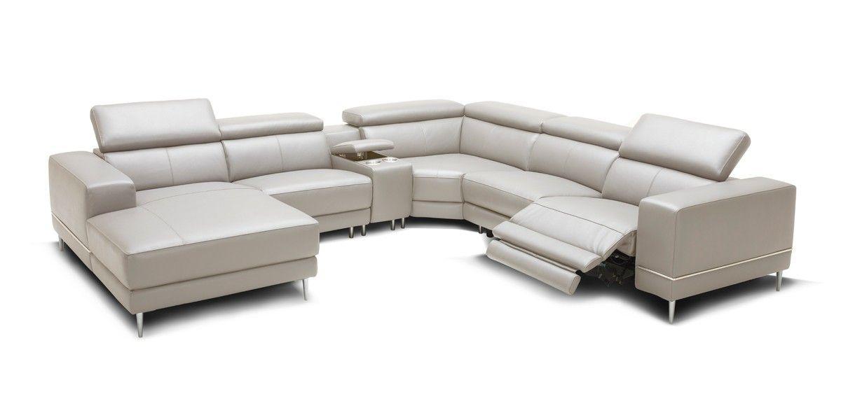Stylish Design Furniture Divani Casa Wade Modern Light Grey