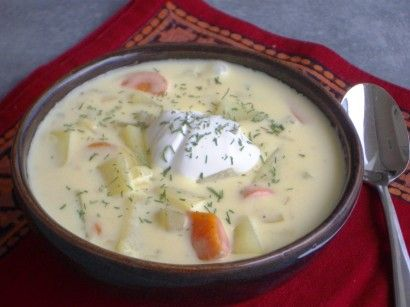 Ogórkowa (Polish Dill Pickle Soup)