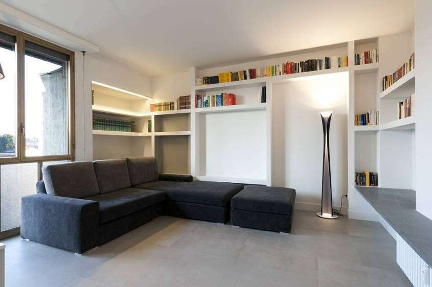 Idee pareti soggiorno in cartongesso - Idee per arredare il soggiorno