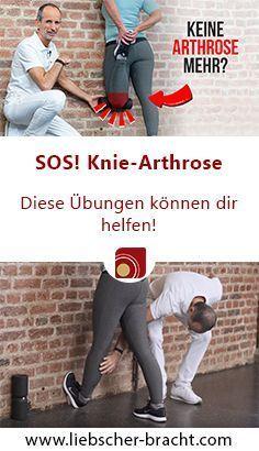 Die besten Übungen gegen Kniearthrose