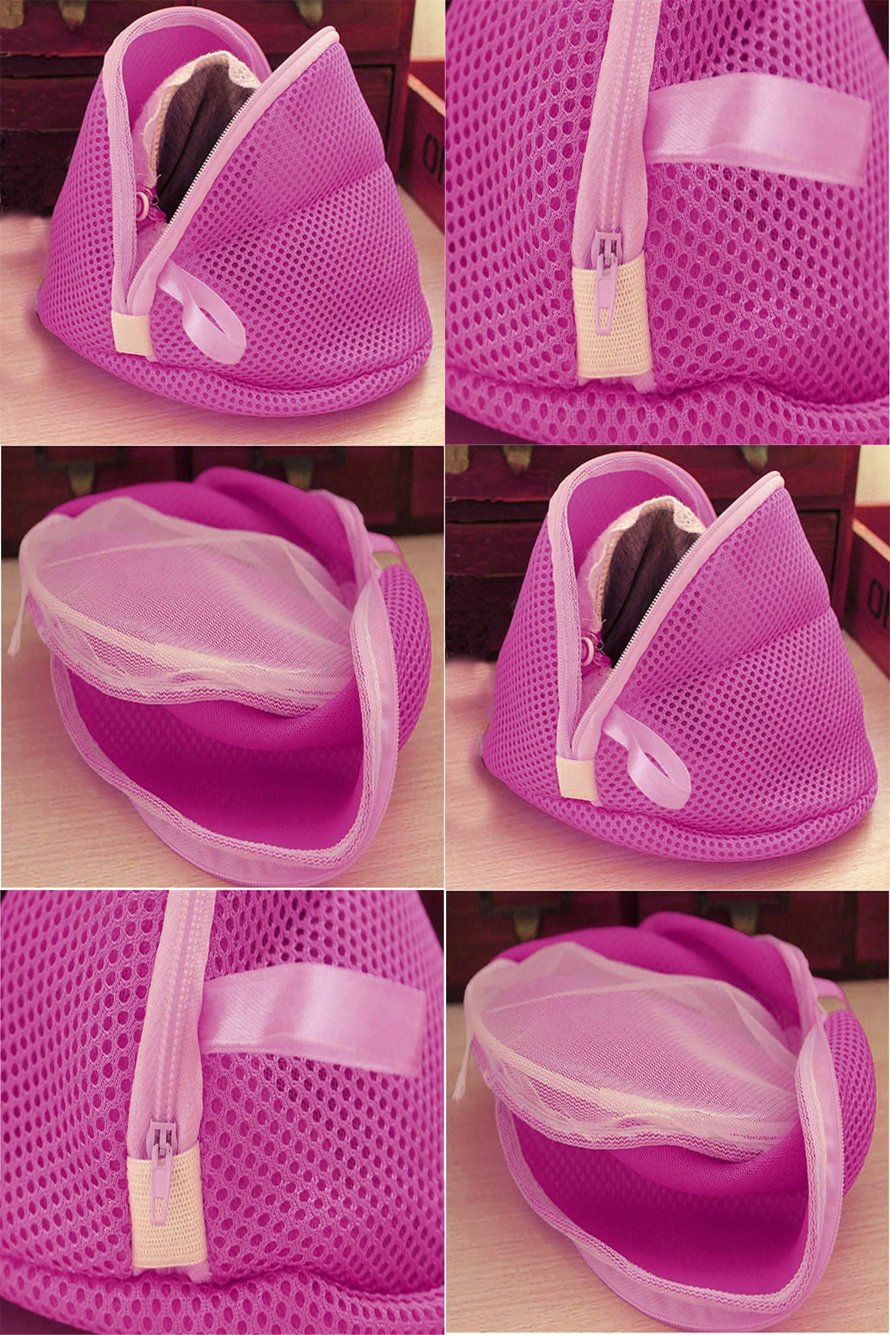 f63c8fc7a4f9  Visit to Buy  Women Clothing Bra Laundry Basket Bag Lingerie Washing  Hosiery Saver Protect