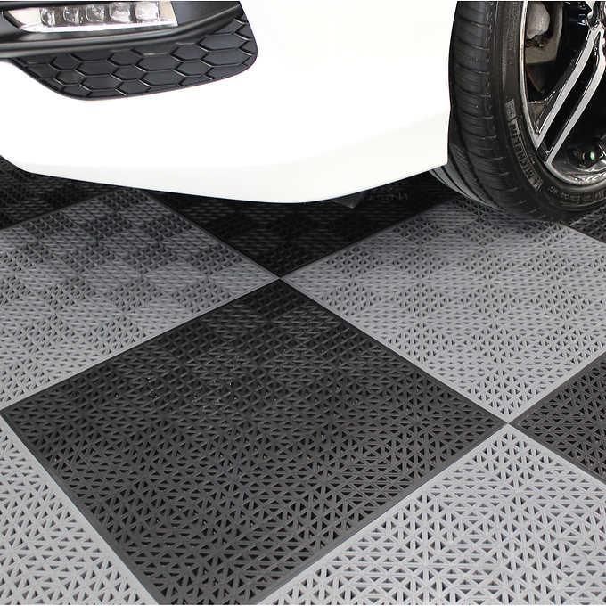 Plastipro Loc Heavy Duty Garage Floor Tiles Garage Floor Tiles Garage Floor Tile Floor