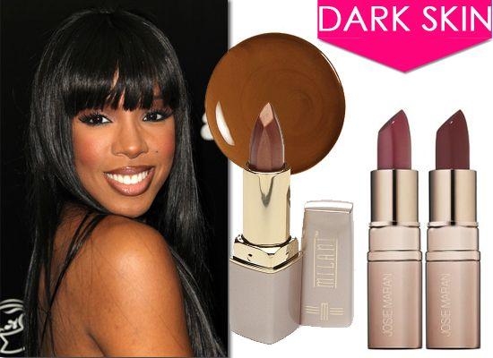 Gallery For  Lipstick Colors For Dark Skin  Dusky Skin -9546