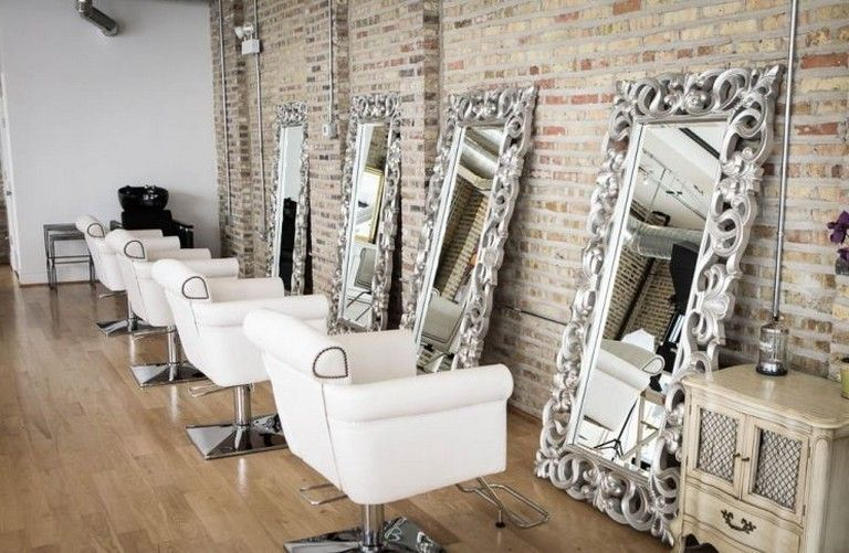 40 Best Salon Decor Hairdressing For Inspiration To Maximize Existing Place Salon Decor Hair Salon Interior Beauty Salon Decor