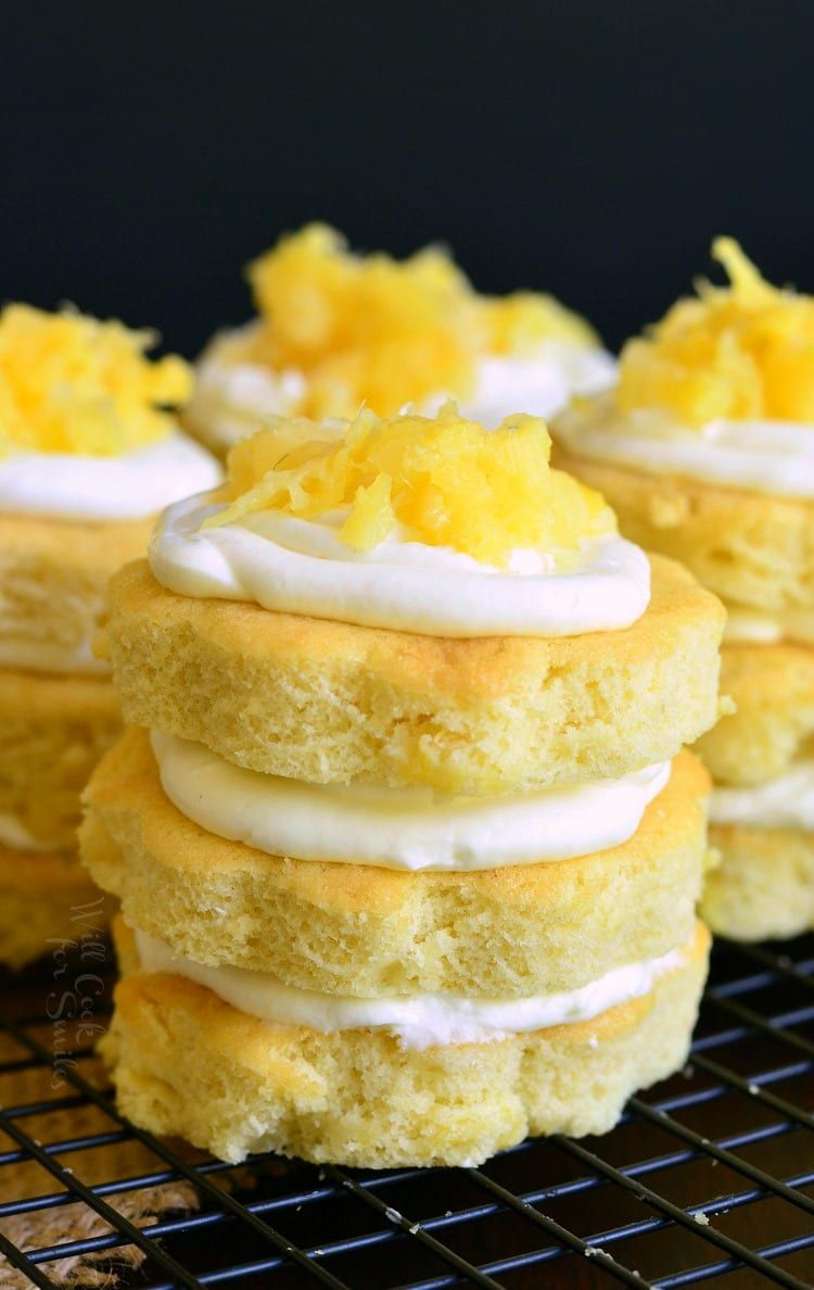 Bright and sunny dessert to get you in the spring mood