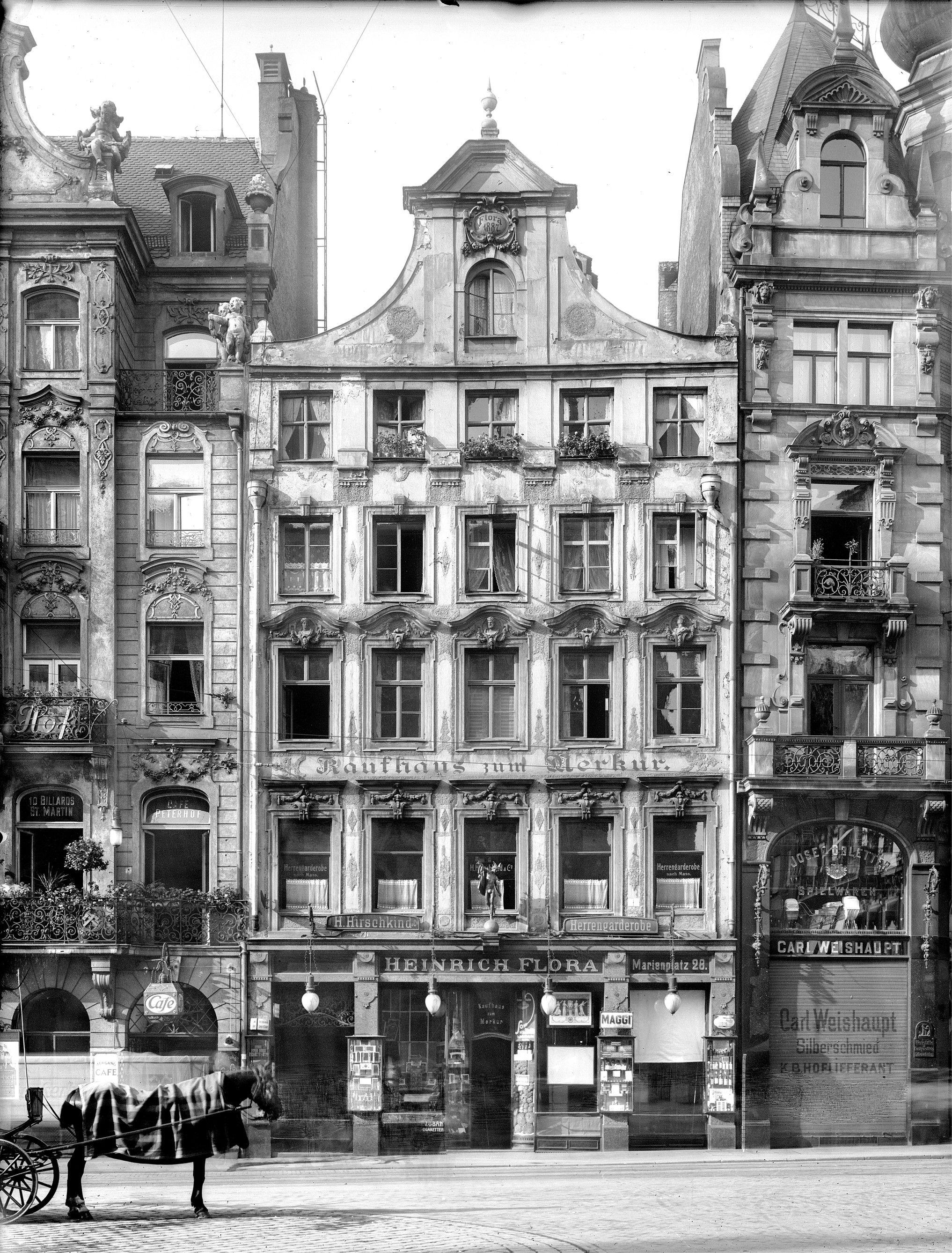 München - Altstadt nach 1945 (Galerie) - Architekt