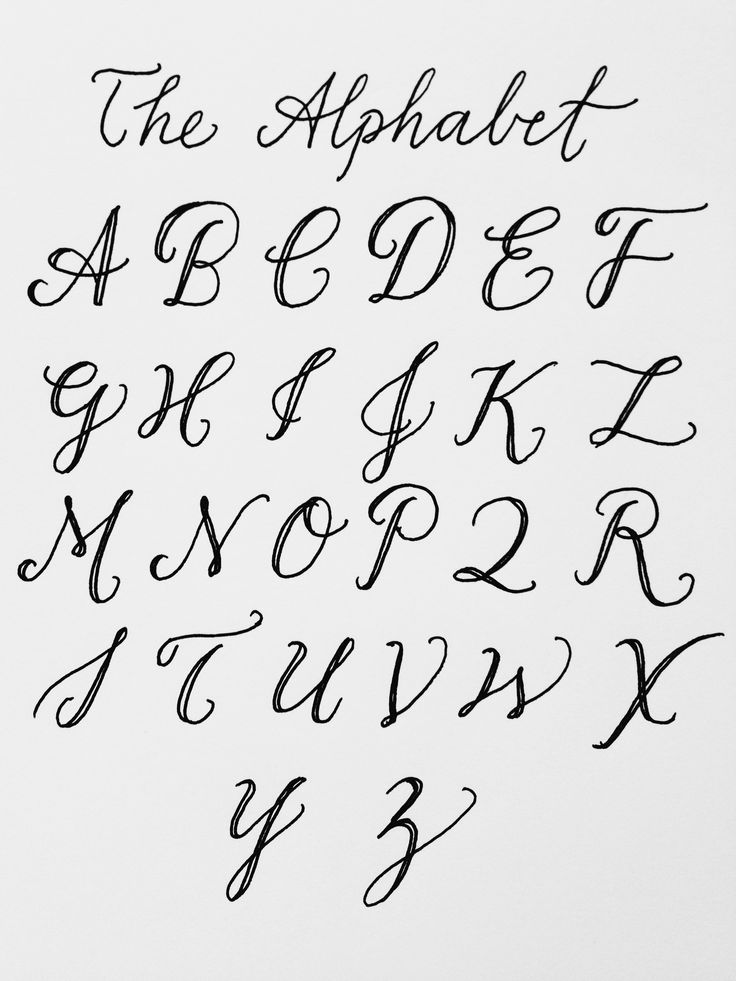 and my biggest muse: the alphabet! there are an infinite