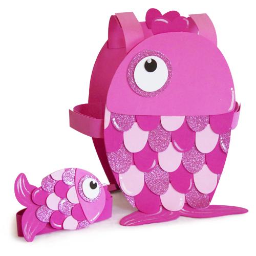 Disfraz pez rosa goma eva pez disfraz de pez for Como hacer un criadero de peces casero