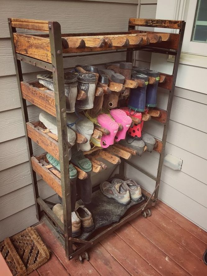 80 Examples Of Canalization Of Shoes In A Unique Shoe Rack Model 62 In 2020 Diy Shoe Rack Shoe Storage Bins Closet Shoe Storage