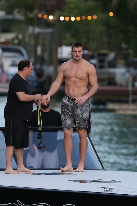 Rob Gronkowski Jacked And Flexing After Terrible Super Bowl