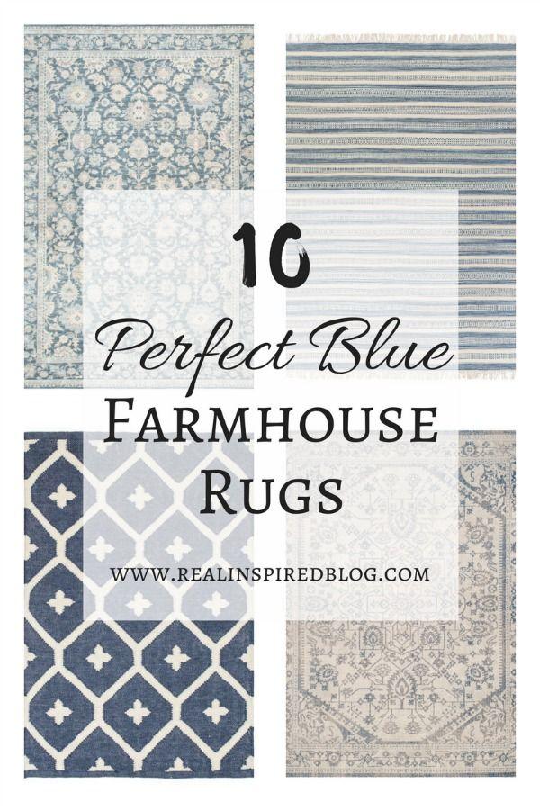 10 Perfect Blue Farmhouse Rugs Farmhouse Style Rugs Farmhouse Rugs Farmhouse Rugs Living Room