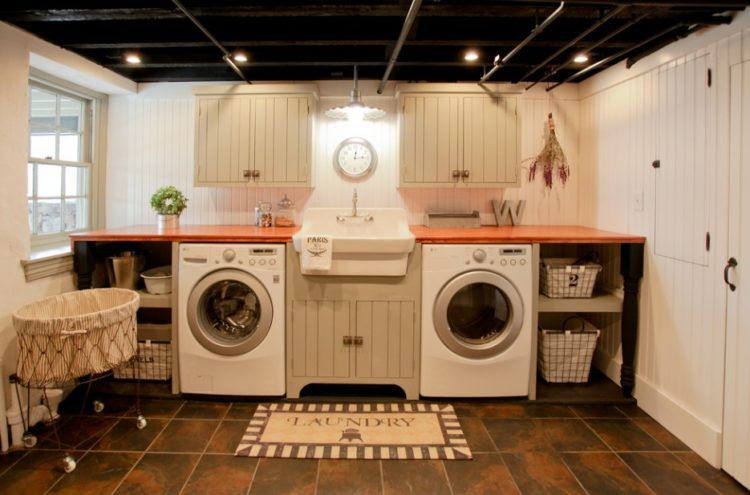 13 Best Of The Best Basement Laundry Room Design Ideas Basement Laundry Room Makeover Basement Laundry Unfinished Basement Laundry