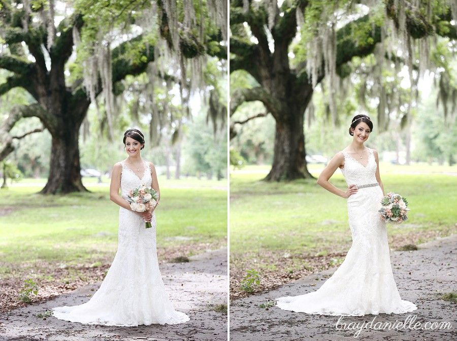 Halis Bridal Portraits At City Park In New Orleans LA Baton Rouge Wedding Photographers