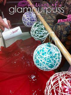 Musings of a Glamourpuss: DIY Twine Balls
