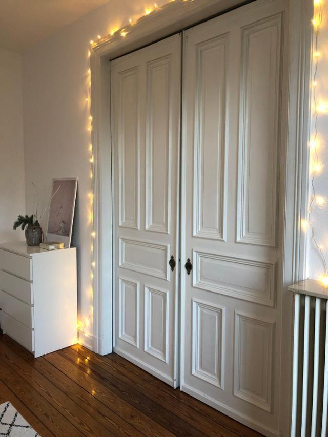 Altbautüren sind was Feines \u2013 und können sehr gut mit Lichterketten