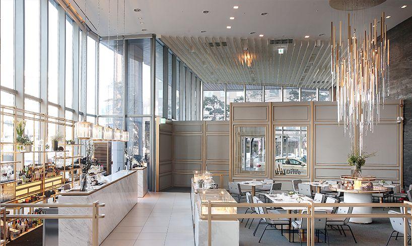 joongho choi bover restaurant seoul designboom  Restaurants  Pinterest  식당 ...