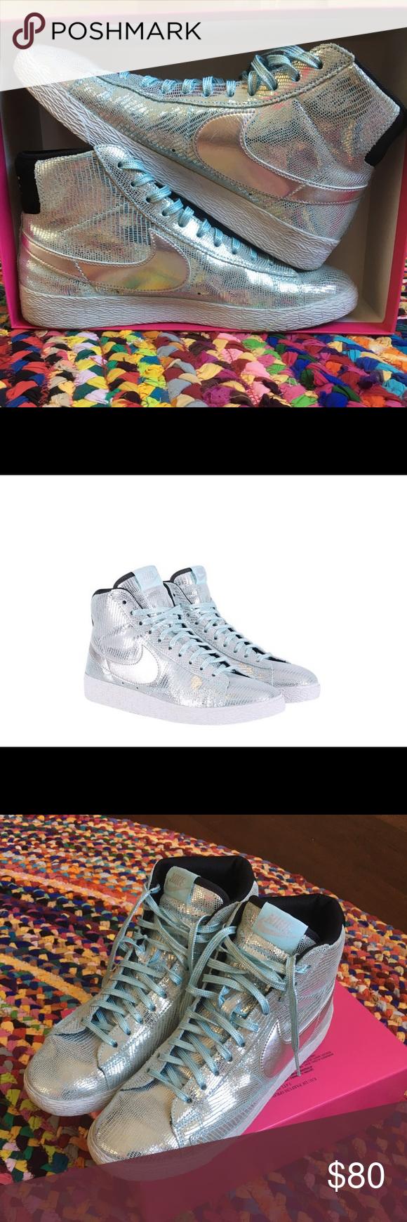 "Nike ""disco ball"" Blazer MID QZ women's sneakers Brand new"