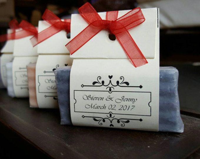 100 wedding soap favors mini soap bridal shower favors wedding favor ...