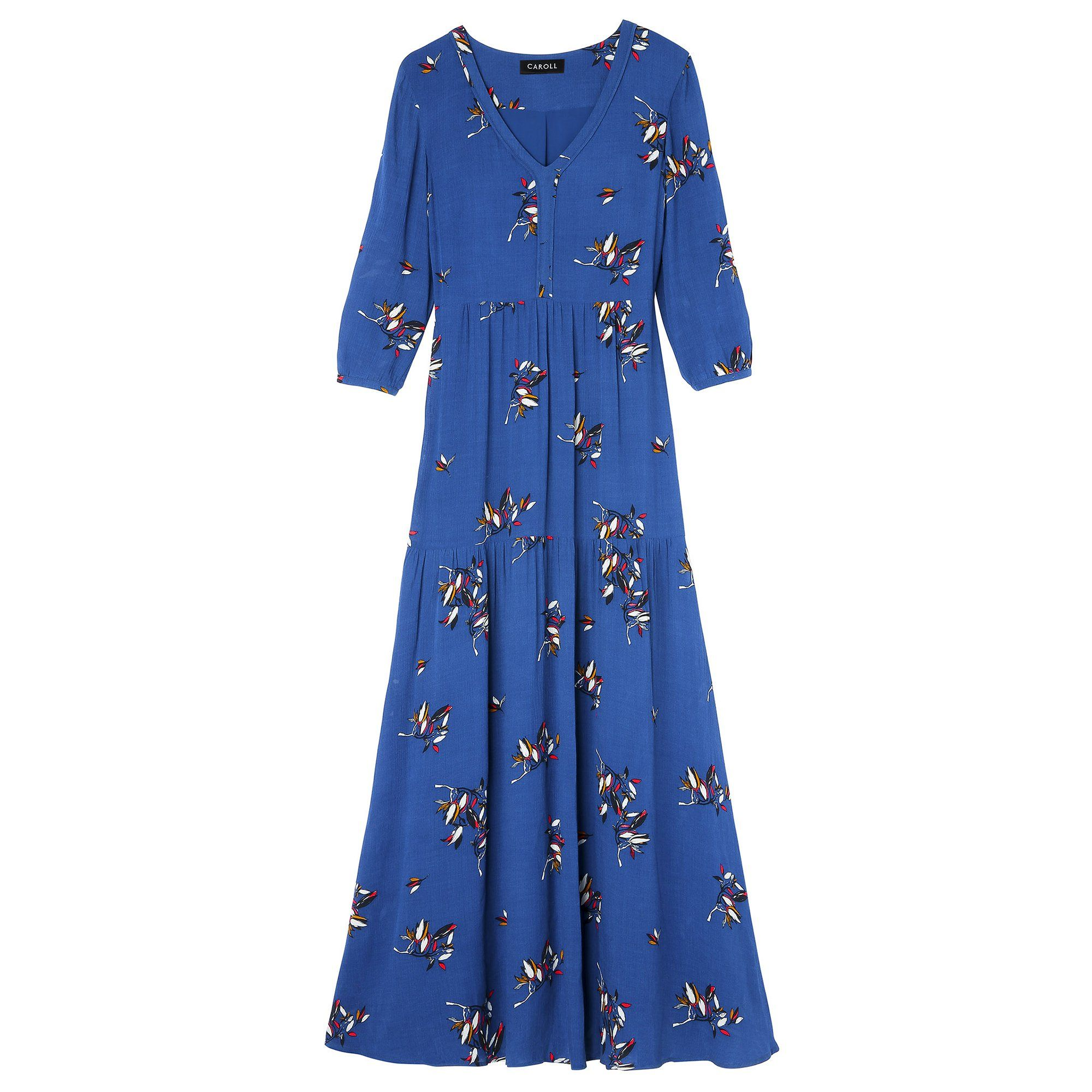 45 robes longues printemps été 2019 | Dresses, Dresses with