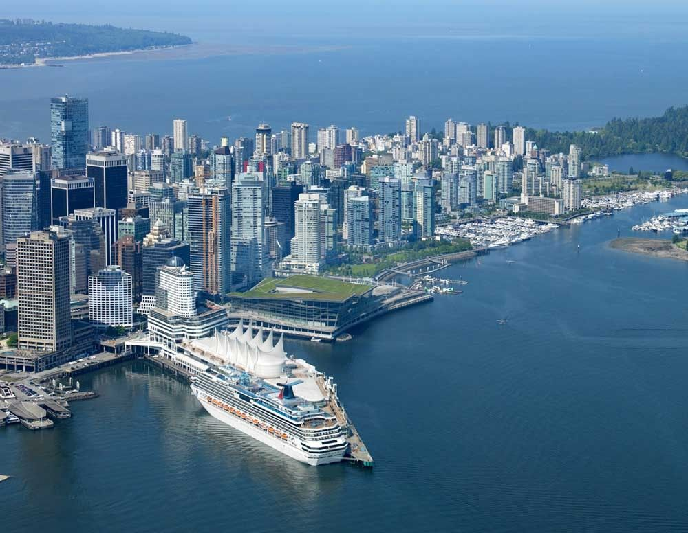 Vancouver Canada Place crusie ship terminal | 豪華客船, 客船, 豪華