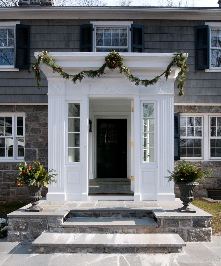 Small Enclosed Front Porch Entry: Image Result For Enclosed Portico