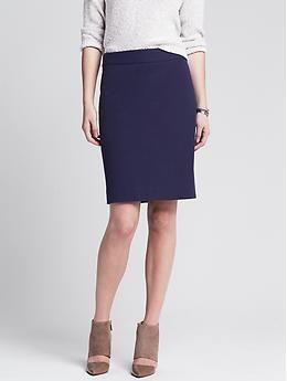eefbf53965 Sloan-Fit Pencil Skirt - Banana Republic - $79.50   Into the ...