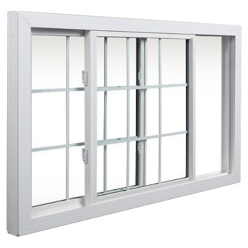 Upvc 2 Track Sliding Windows Frame Color White Rs 566 40 Horizontal Sliding Windows Upvc Windows Sliding Windows