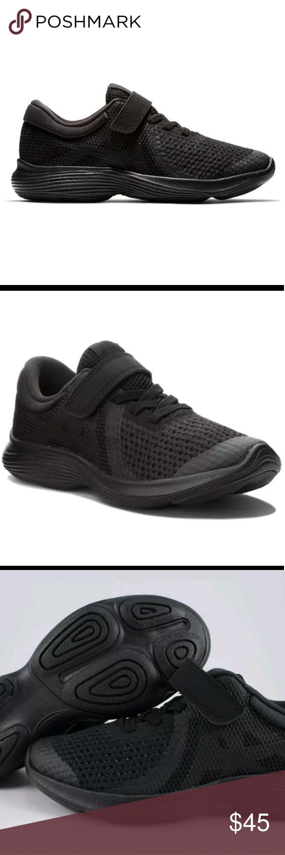 Nike Revolution 4 PSV 2 1 Boys Youth Kids Running Shoe Sneakers 11 13 3