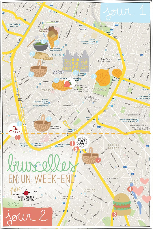 UN WEEKEND À BRUXELLES JOUR 1 Bruxelles, Voyage à