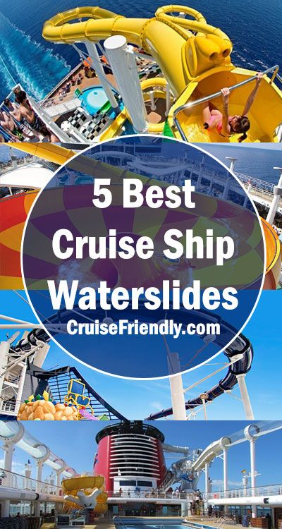 Best Cruise Ship Waterslides From Carnival Disney Royal - Best waterslides on cruise ships