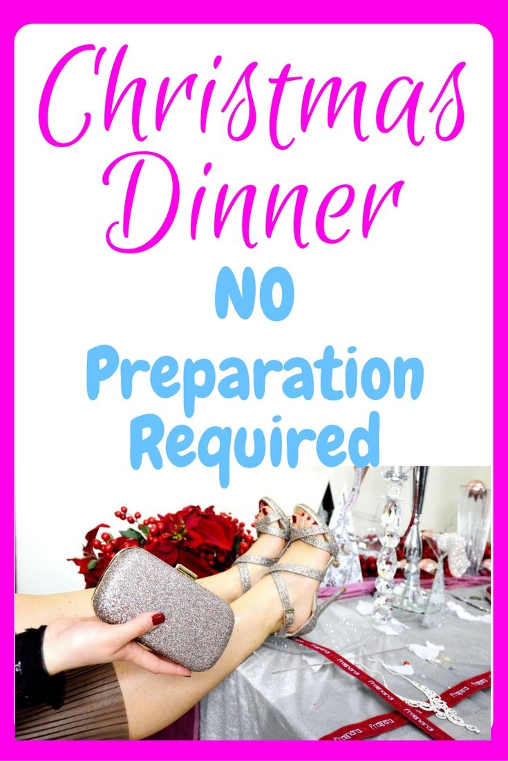 Christmas Dinner - Ready Prepared | Pinterest | Personal finance ...