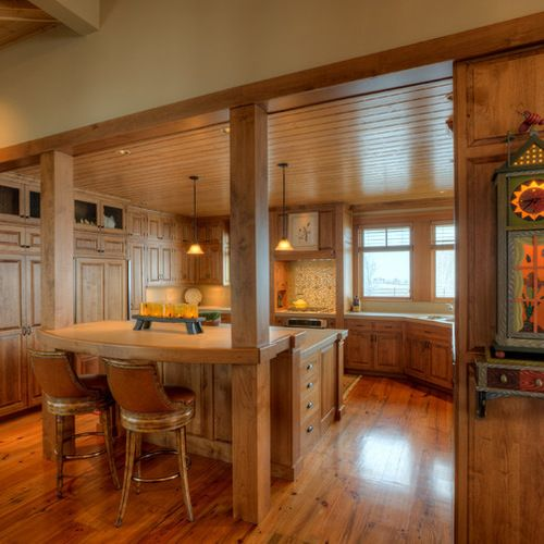 Kitchen Flawless Kitchen Design With Modern And Cool Farm: Removing A Load Bearing Wall Kitchen Design Ideas