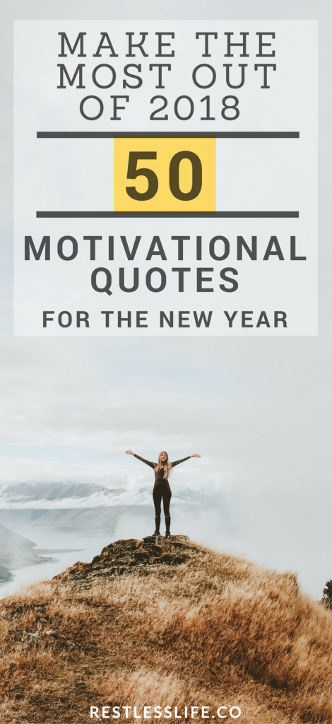 50 Motivational Quotes That Will Help You Conquer Life | Millennial ...