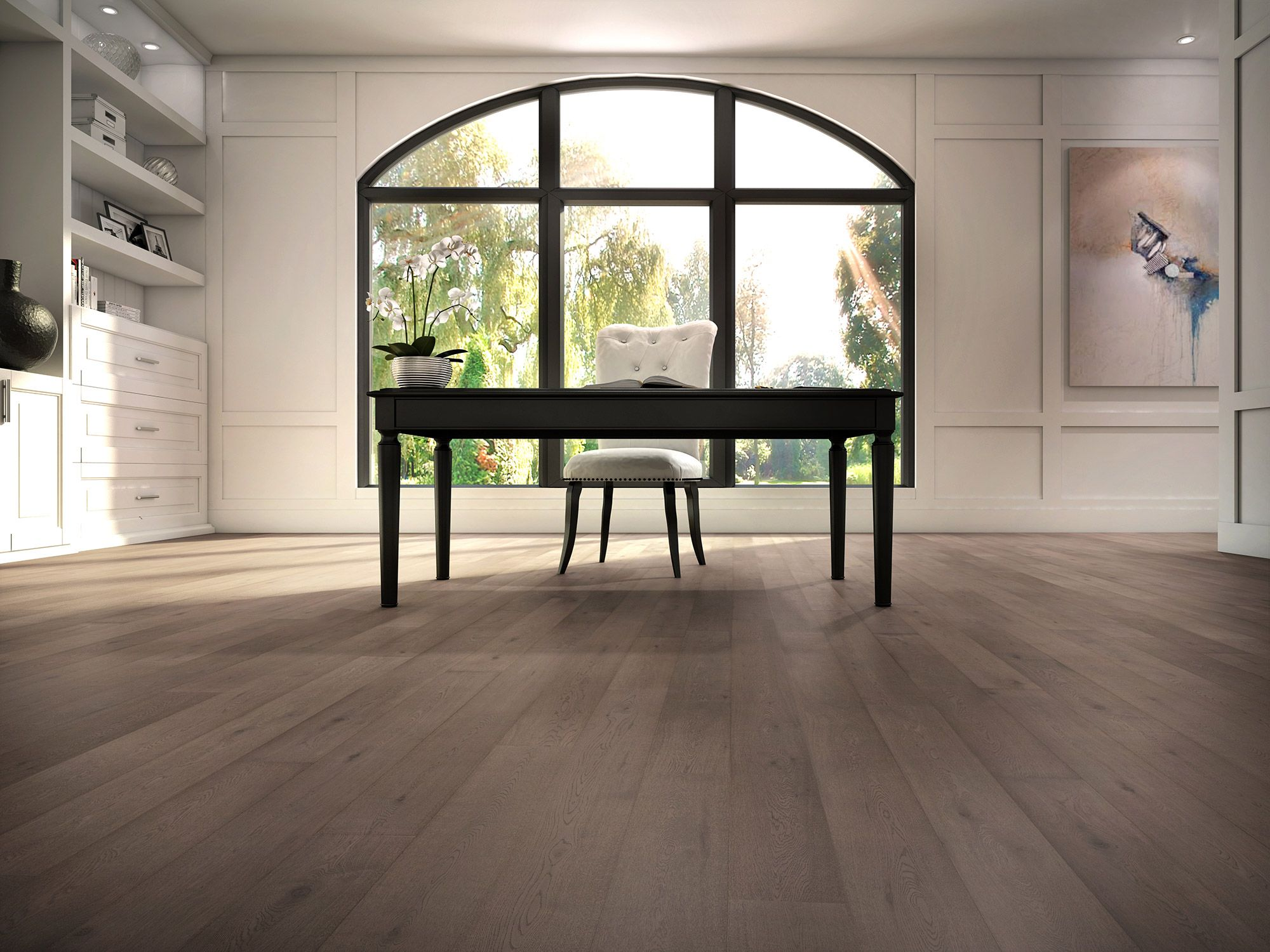 Attractive Greystone, Designer, White Oak   Lauzon Hardwood Flooring