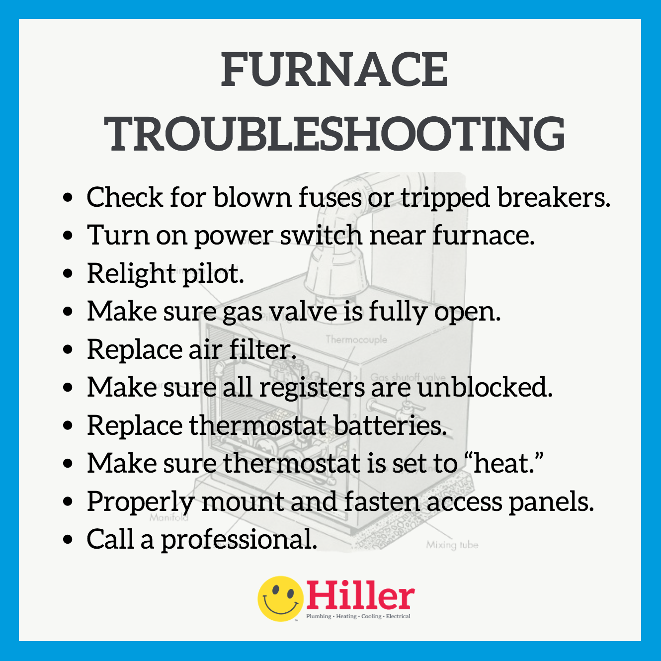 Gas Furnace Troubleshooting And Repair Furnace Troubleshooting Furnace Gas Furnace