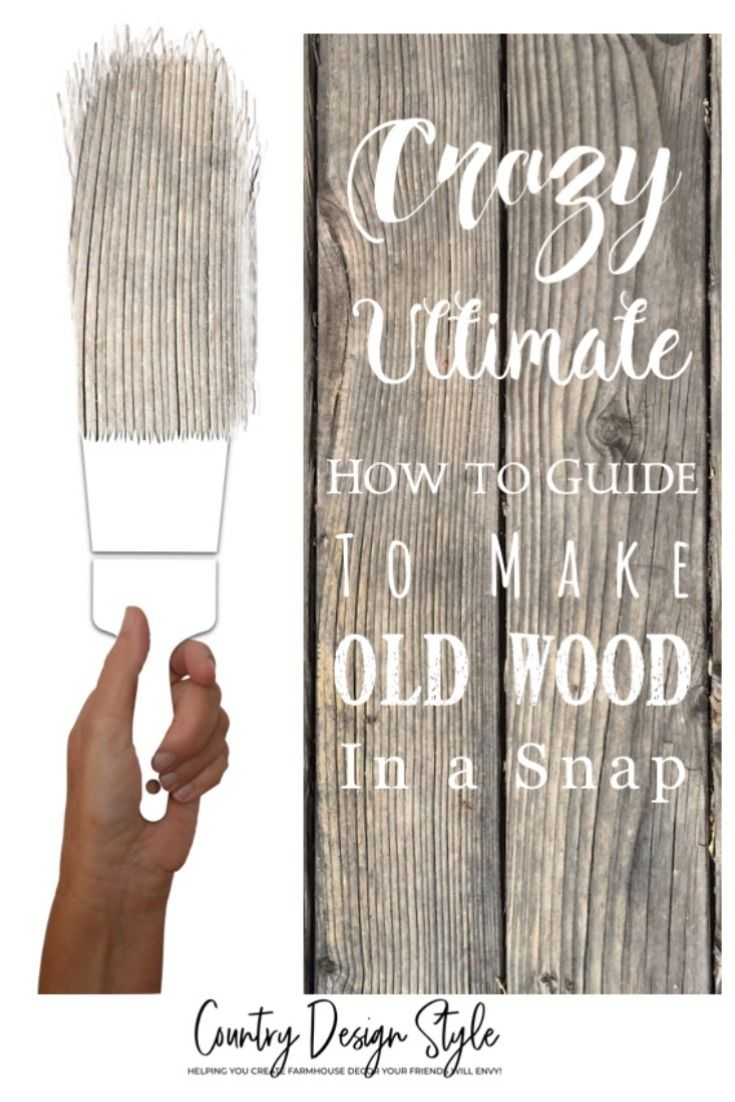 Crazy Ultimate How to Guide to make Barn Wood is part of Diy wood projects, Wood projects for beginners, Barn wood projects, Easy woodworking projects, Wood crafting tools, Wood projects - I create a lot of barn wood from new wood  But after hundreds of projects I wanted to try creating more old wood looks using steel wool and vinegar  I spent months developing new ideas to create barn wood  Then I took those ideas farther… The most popular question I get about the aging wood technique …