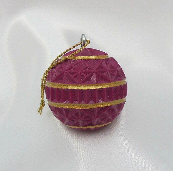 Christmas Ornament Unique Hand Carved Golf by SticksNStonesGifts, $20.00