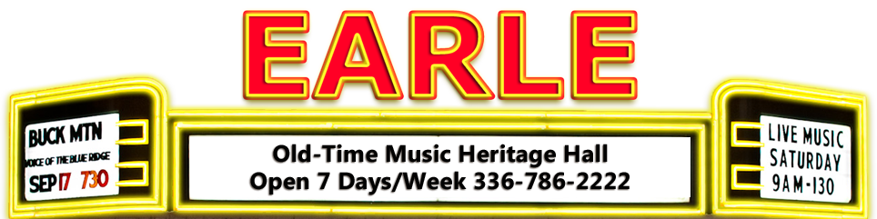 Earle Old Time Music Heritage Hall, Surry County.