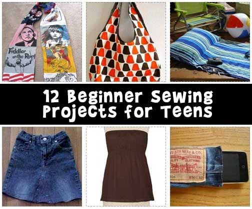 Sewing teen clothes
