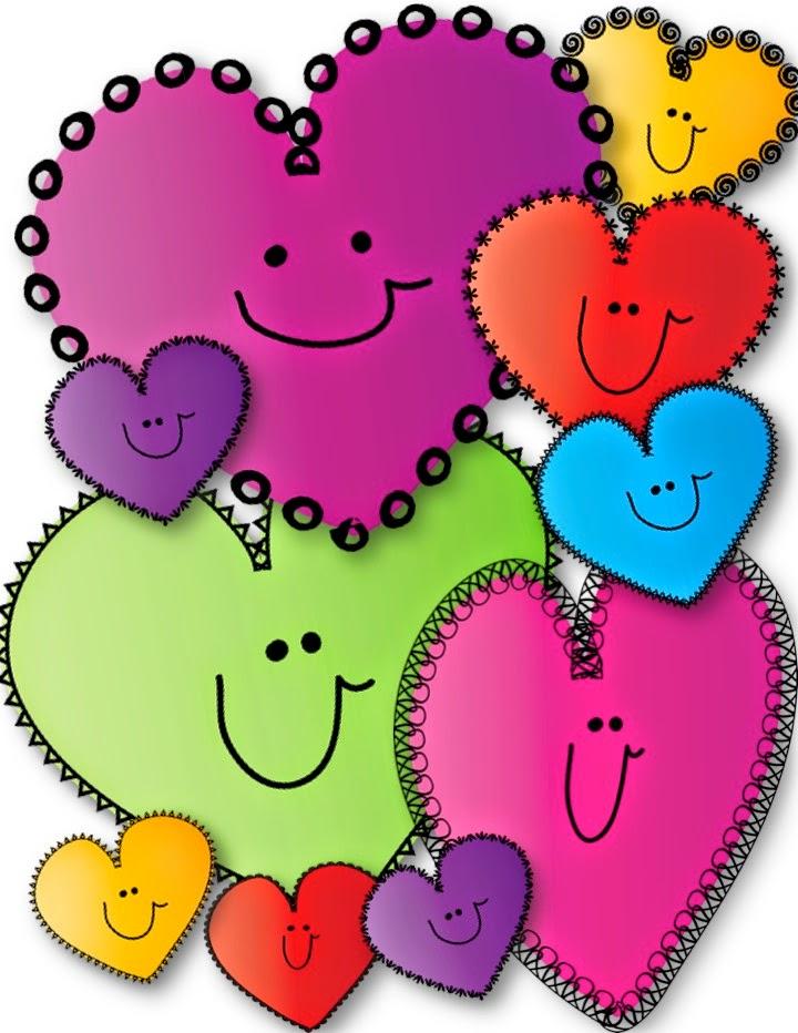 Freebie Happy Hearts Clip Art Perfect For Valentine S Day Heart Clip Art Clip Art Freebies Free Clip Art