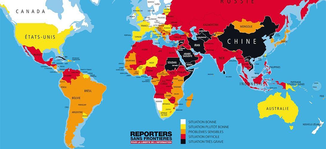 Top 24 Des Meilleures Affiches Chocs De Reporters Sans Frontieres Reporters Sans Frontieres Affiche Frontieres
