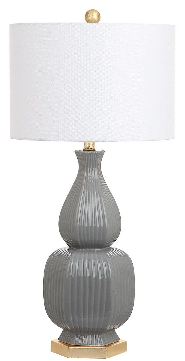 Lit4512a Set2 Table Lamps Lighting By Safavieh Gold Table Lamp Table Lamp Sets Table Lamp