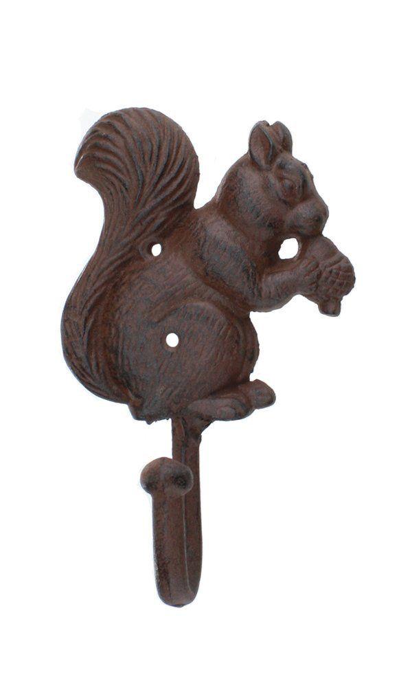 Amazon Com Iron Squirrel Coat Hook Acorn Coat Hook Squirrel Coat Hooks Iron
